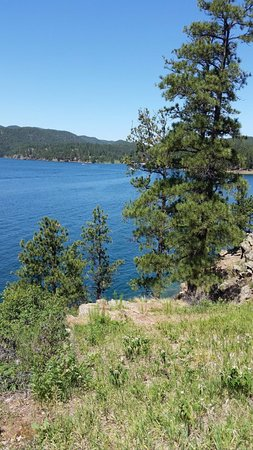 Pactola reservoir campground silver city sd for Pactola lake cabins