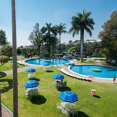 Hotel Aristos Mirador Cuernavaca: Jardines