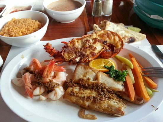 Puerto Nuevo, Meksiko: Amo la combinación de mariscos!!!