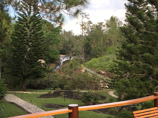 Blancaneaux Lodge: View from Coppola Room