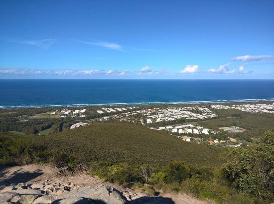 Coolum Beach, Australien: The beautiful Coral Sea from the top of Mount Coolum.