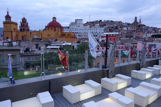 Hotel Boutique 1850: View from rooftop bar