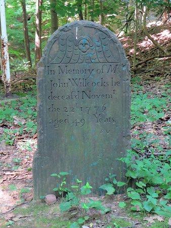 Berkeley Heights, นิวเจอร์ซีย์: Headstone in Cemetery