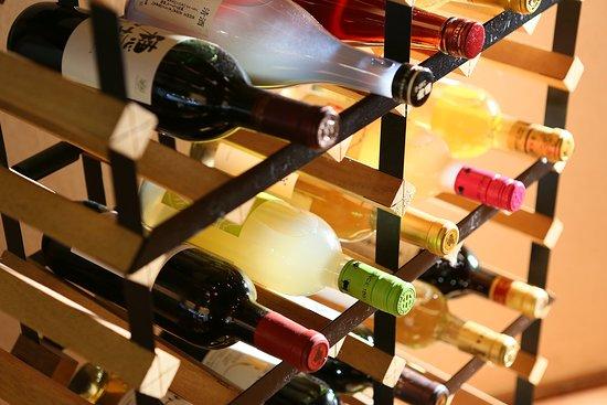 Hotel Shinko : 近隣ワイナリーから取り寄せた甲州ワインをお楽しみいただけます