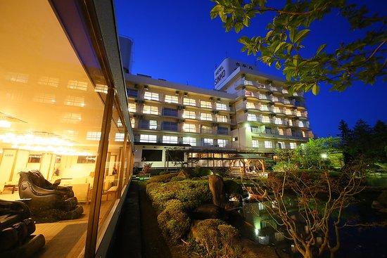 Hotel Shinko : マッサージをしながらゆったり中庭の景色をお楽しみいただけます