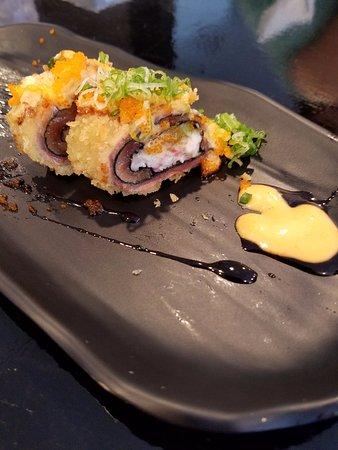 Ayce Sushi Inc Salmon Crunch Roll
