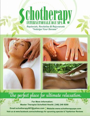 Sunset Crest, Barbados: Schotherapy Internationale Day Spa
