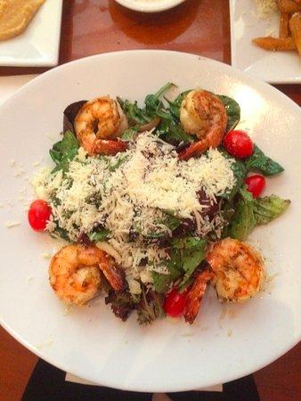 National Civil War Museum: Salad with shrimp