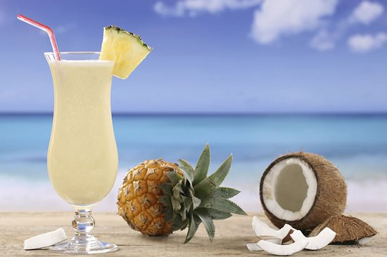 Coolum Beach, Australia: Pina Colada with Coconut Rum