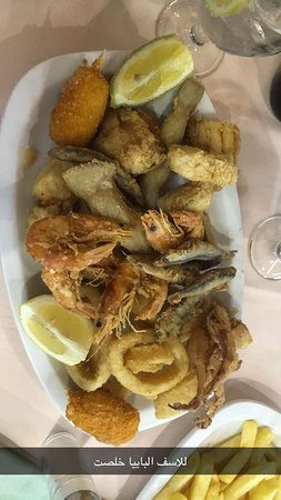 Good Restaurant Traditional Spanish Food I Order Paella But Finished