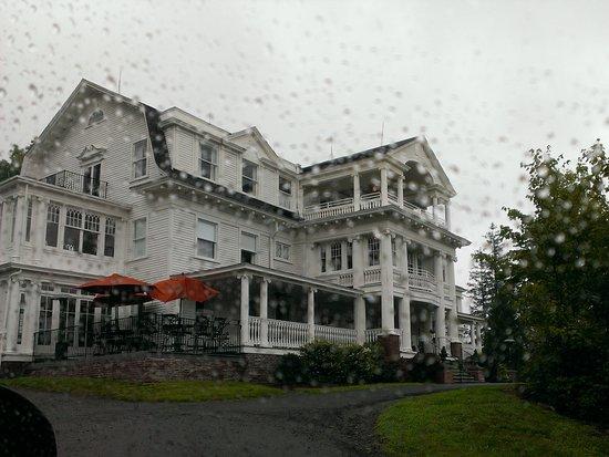 Bethany, PA: Rainy arrival