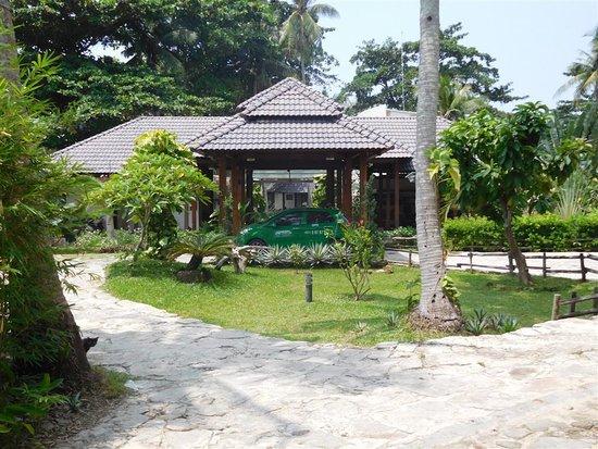 Arcadia Phu Quoc Resort: Front entrance