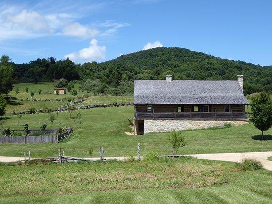Staunton, Вирджиния: Das Farmhaus aus den 1820ern.