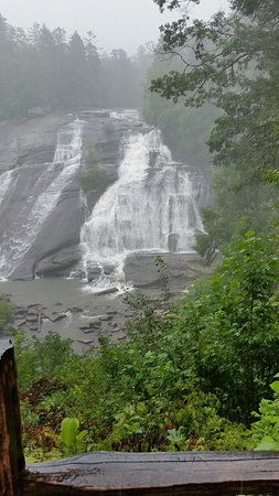 Cedar Mountain, NC: high falls