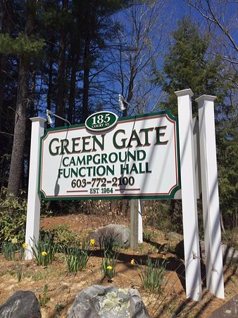 Exeter, Nueva Hampshire: Green Gate Campground