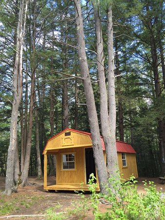 Exeter, Nueva Hampshire: New cabins!