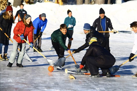 Phelps, WI: Scheduled Broom Ball Games