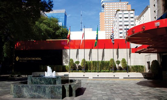 InterContinental Sao Paulo: Hotel Exterior