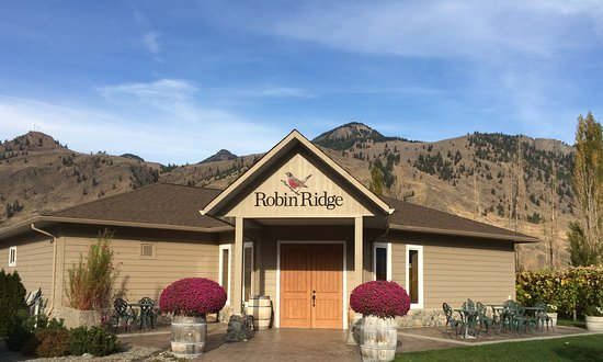 Keremeos, Καναδάς: Welcome to Robin Ridge Winery