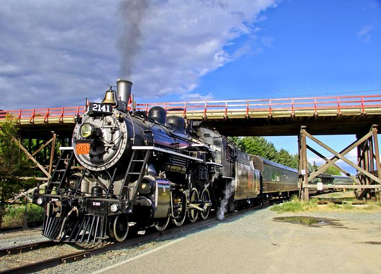Kamloops Heritage Railway - Steam Train: We depart from the CN station located next to the Red Bridge