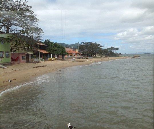 Praia vista do Ostradamus
