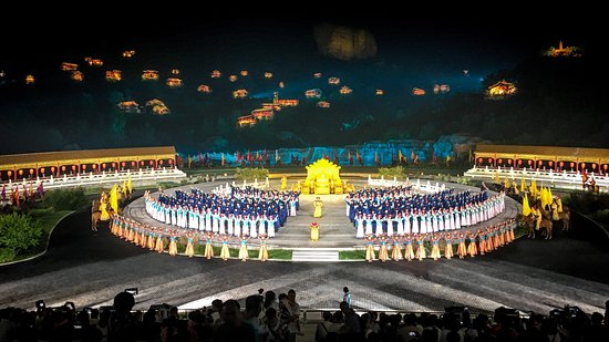 Chengde, China: The show