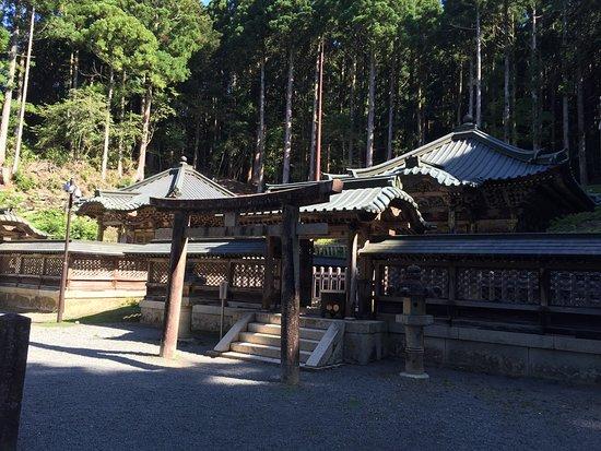 Tokugawa's Mausoleum: 相似形の建築です