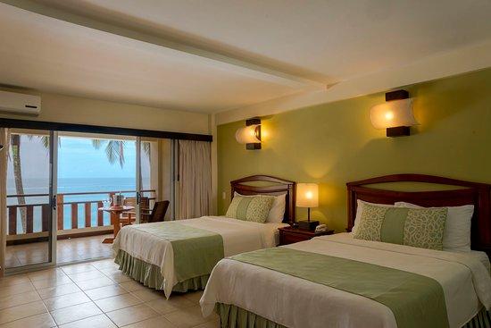 Тамбора, Коста-Рика: Beachfront Queen Beds