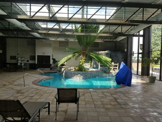 Hilton Knoxville Airport: Indoor Pool. Very nice!