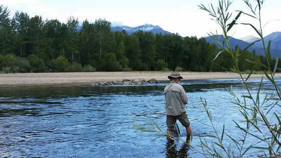 Stevensville, MT: Beautiful spot, great fishing