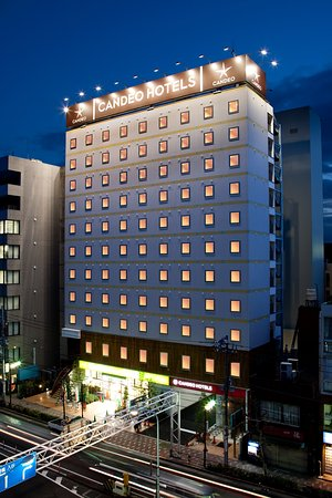 Candeo Hotels Ueno-Park : 外観 Exterior