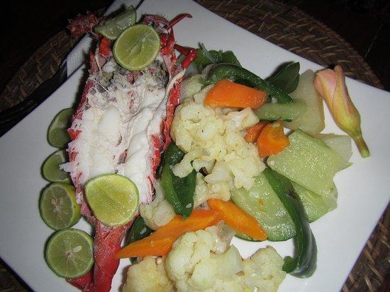 Kilima Kidogo Bar & Restaurant: Lobster