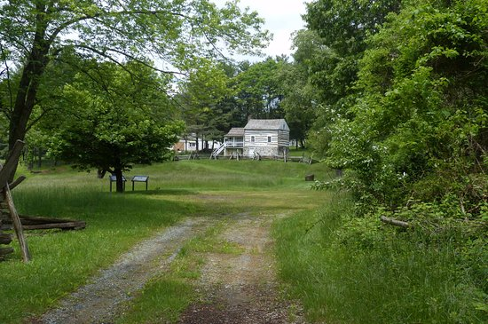 Sharpsburg, MD: The Kennedy Farm - cottage viewed from roadside