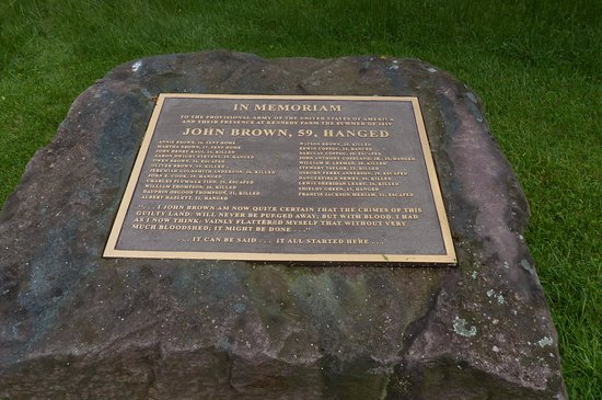 Sharpsburg, MD: John Brown historical marker