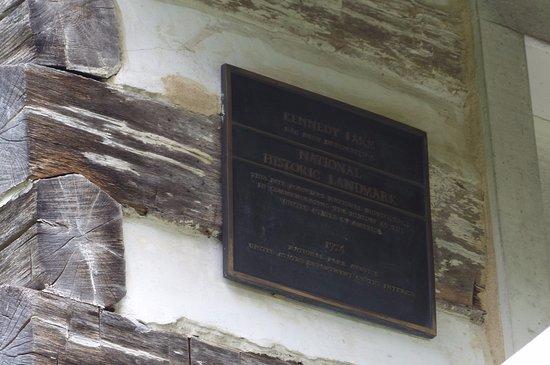 Sharpsburg, MD: National Historical Landmark plaque