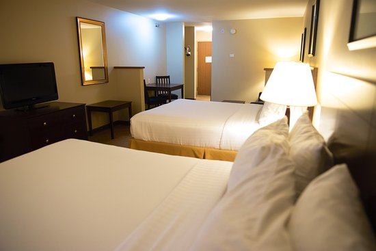 Devils Lake, Dakota del Norte: Two Queen Guest Room