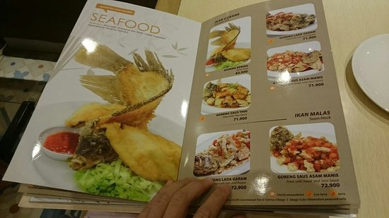 Menu Of Imperial Lamien Picture Of Imperial Kitchen Tujungan Plaza Surabaya Tripadvisor