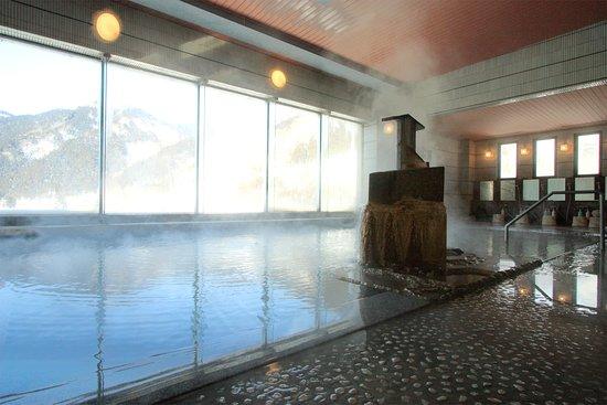 Oedo Onsen Monogatari Naruko Onsen Kounkaku: 大浴場でゆったり鳴子の湯をお楽しみください