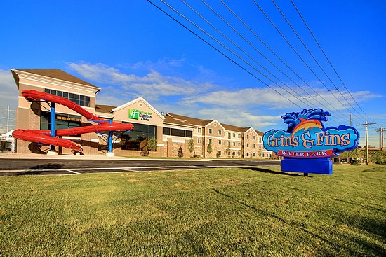 West Valley City, Γιούτα: Hotel's Waterpark Grins & Fins