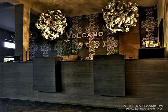 Volcano Spa Hotel : Recepce