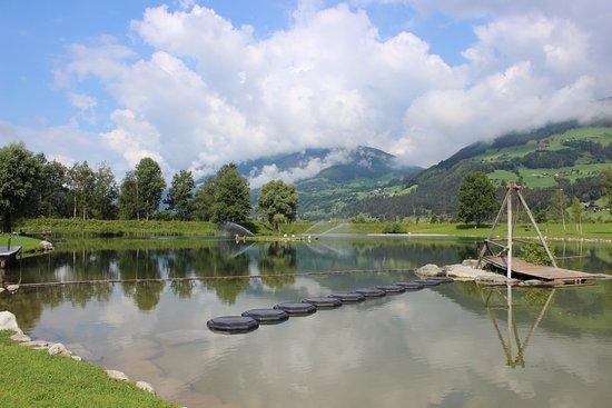 Hollersbach im Pinzgau, Austria: Badesee in der Nähe