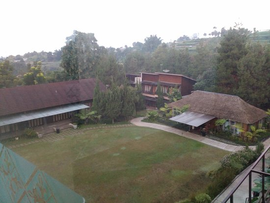 Green Forest Resort: View from 5th level at Executive Room Area