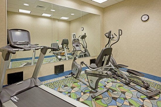 Holiday Inn Express in Plainville: New  fitness equipment with personal TVs