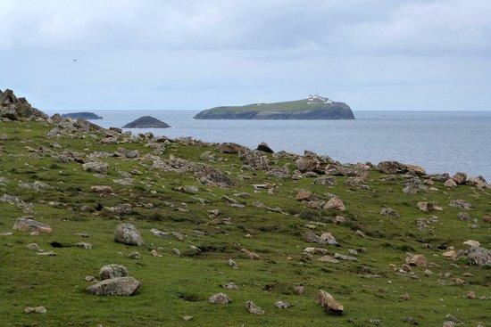 Belmullet, ไอร์แลนด์: Eagle Island from Erris Head