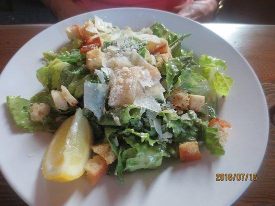 Coupeville, WA: Caesar salad