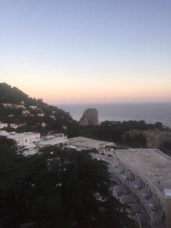 Grand Hotel Quisisana: Panorama mozzafiato