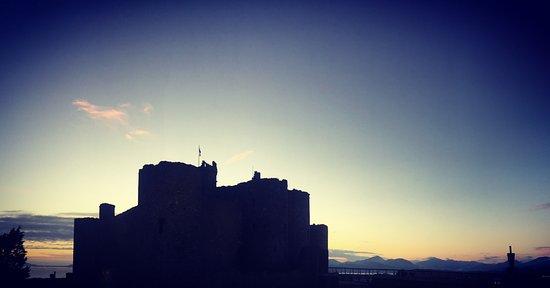 Maelgwyn House Bed & Breakfast: Castle view