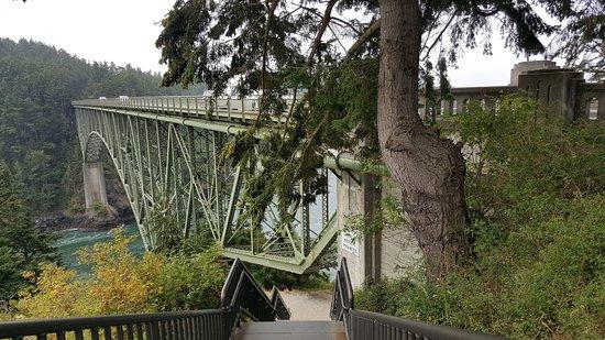 Oak Harbor, WA: bridge from Pass Island