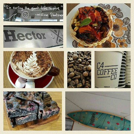 New Brighton North, Νέα Ζηλανδία: Hector Cafe