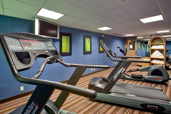 Chatham, Canadá: work off some energy in our cardio room